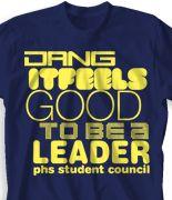 Student Council T-Shirt Design - Dang desn-289d2