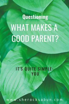 Being a good parent can sometimes feel like a tricky task. People are always ready to judge and question, but in the end, it's actually quite simple. Learning To Love Yourself, Live For Yourself, Pick Your Battles, Self Thought, Family Get Together, Presents For Her, Teenage Years, Life Inspiration, Quality Time