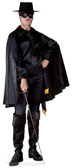 Masked Bandit Costume Adult