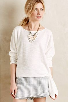 Side-Tie Pullover by Sunday in Brooklyn #anthrofave #anthropologie