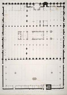 mezquita-cordoba-15 #arquitectura #dibujos #plantas