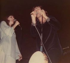 Grace Slick and Marty Balin of Jefferson Airplane. 1968