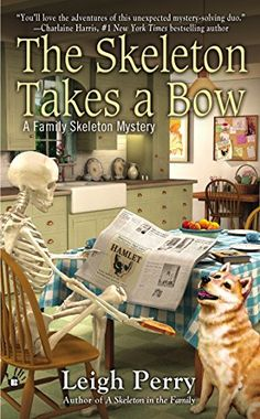 The Skeleton Takes a Bow (A Family Skeleton Mystery) by Leigh Perry http://www.amazon.com/dp/0425255832/ref=cm_sw_r_pi_dp_Iu2Rtb18ZQWJQGTN