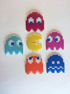 Pac-Man Perler Bead Sprites Pack by BelovedDollDesigns