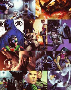 Batman (Dick Grayson) & Robin (Damian Wayne) - Knights of Gotham