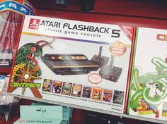 The Atari Flashback 5 comes loaded with 92 games. Get it now at Zia.