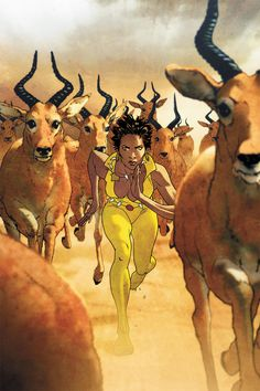Vixen: Return of the Lion #3 courtesy DC Comics