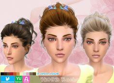 My Sims 4 Blog: Newsea Rachel Hair for Females
