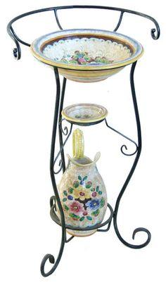 Washstand Porcelain Set.
