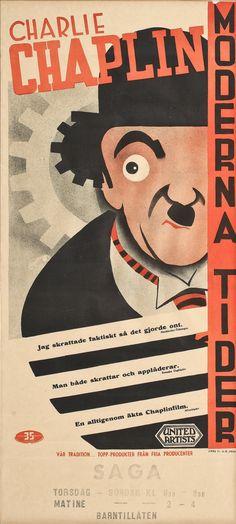 FILMAFFISCH---Moderna-tider---omkring-1900-talets-mitt