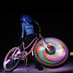 Monkey Light éclairage sur roue de vélo