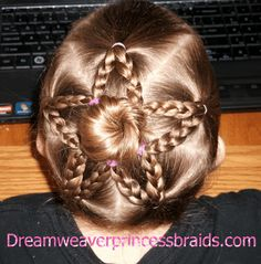Outstanding How To Do A Star Braid Braid Artist Guin Gui Shows Us How To Do A Hairstyles For Women Draintrainus