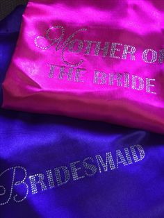 Cerise Pink, Satin Sash, Things To Come, Purple, Gowns, Viola