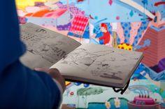 Considering his humble beginnings in Bristol-born street artist Sickboy has gone a long way since then. Sick Boy, Street Artists, Magazine Art, Abstract Canvas, Urban Art, Art World, Illustrators, All About Time, Graffiti