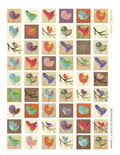 Hey, I found this really awesome Etsy listing at http://www.etsy.com/listing/113522745/modern-birds-clip-art-digital-collage