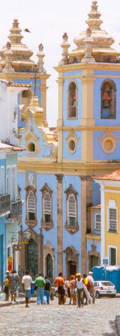 Historic Centre of Salvador, Bahia, Brazil - a UNESCO World Heritage area. Places Around The World, Travel Around The World, Around The Worlds, Best Hotel Deals, Best Hotels, Central America, South America, Bahia Brazil, Brazil Travel