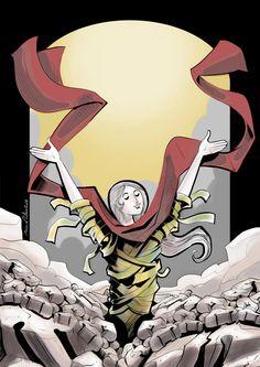 Mina Anton - the Resurrection on Behance