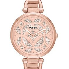 Women's Rose Gold Watches   FOSSIL