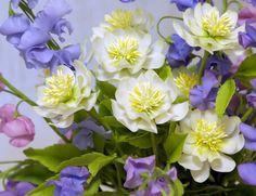 Russian Clay flowers fleur