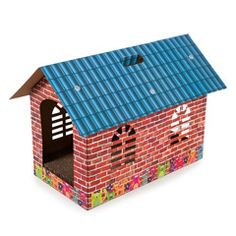 Buy Cat Scratching Cardboard House by PetPlanet at Guaranteed Cheapest Prices with Express & Free Delivery available now at PetPlanet.co.uk, the UK's #1 Online Pet Shop.