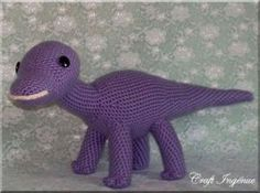 Hadrosaur - Free Amigurumi Pattern - PDF File