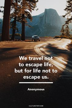 Best travel quotes that will inspire your wanderlust spirit Life Quotes Tumblr, Life Quotes To Live By, Funny Quotes About Life, Change Quotes, Quotes Quotes, Qoutes, Vacation Quotes, Best Travel Quotes, Europe Travel Guide