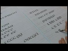 Uncial Hand Calligraphy Tips : Uncial Calligraphy Tips: S