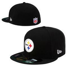Cheap Wholesale Pittsburgh Steelers NFL Pop Basic 59FIFTY Collection Caps Black for slae at US$8.90 #snapbackhats #snapbacks #hiphop #popular #hiphocap #sportscaps #fashioncaps #baseballcap