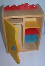 Schrank Bodo Hennig Kinderzimmerschrank 23742  Puppenhaus Puppenstube