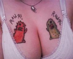 Hey-O! Its Bad TatToos Day!! 15 More of The Ugliest Worst!