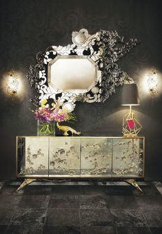 The-Best-Wall-Mirrors-to-Make-a-Statement-8 The-Best-Wall-Mirrors-to-Make-a-Statement-8