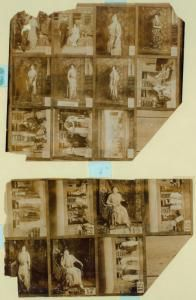 Scenes from 1914 production of Pygmalion, from the NYPL