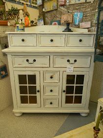 Emily's Up-cycled Furniture: A Whiter Shade of Pale