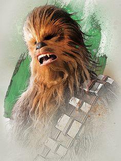 Star Wars The Last Jedi New Promo Character Art -Chewbacca Star Wars Fan Art, Star Wars Holonet, Star Wars Gifts, Star Wars Characters, Star Wars Episodes, Chewbacca, Star Wars Zeichnungen, Starwars, Images Star Wars