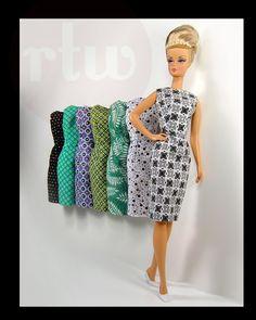Gorgeous Barbie dresses.
