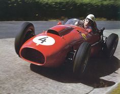 pinterest.com/fra411 #vintage #formula1 - Von Trips at the German Grand Prix - 1958 by Nigel Smuckatelli