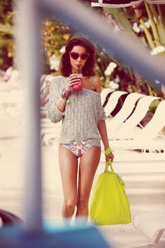 Isabeli Fontana Sizzles in Morena Rosa Beach Fall 2013 Campaign - Google Search