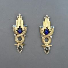 @dbydalia #jewellery #earrings #statement #architecture #artdeco