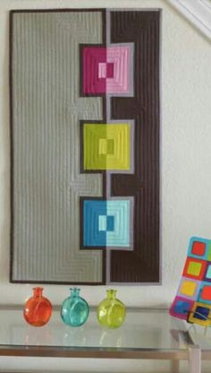 Modern quilt from Mark Lipinski