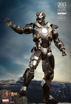 Hot Toys : Iron Man 3 - Tank (Mark XXIV) 1/6th scale Collectible Figure