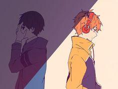 Kaneki e Hide de anonymous   We Heart It