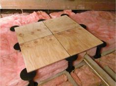 This Nifty Kit Allows You To Create Complete Storage Islands Raised Above Insulation So Don