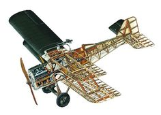 1916 - RAF S.E.5. Royal Flying Corp - Fighter. Engine: Hispano-Suiza V8. Armament: 1 x 7.7mm forward firing Vickers machine gun, 1 x 7.7mm Lewis gun on upper wing. Max Speed: 138mph.