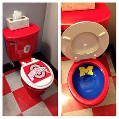 Funny pictures about College football rivalry. Oh, and cool pics about College football rivalry. Also, College football rivalry. Buckeyes Football, College Football Teams, Ohio State Football, Ohio State University, Ohio State Buckeyes, Ohio State Rooms, Football Humor, Sports Teams, Football Rivalries