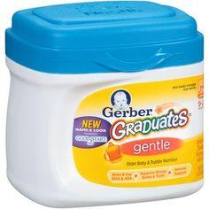 Gerber Graduates Gentle Infant & Toddler Formula, 22 oz