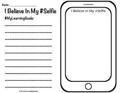Growth Mindset Bulletin Board Believe In Yourself #selfie.