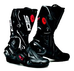 Sidi Vertigo Lei street boots. With a Dr Scholls insert, these become a super comfy touring boot.