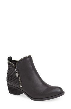 Lucky Brand 'Bartalino' Stud Embossed Leather Bootie (Women) | Nordstrom