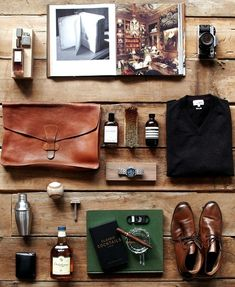 #Gentleman's essentials.