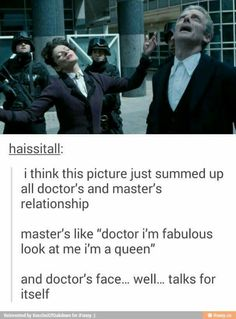 The Master and The Doctor's relationship